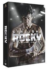 BOX/COFANETTO 6 DVD NUOVO/SIG ROCKY COLLEZIONE COMPLETA SAGA Sylvester Stallone