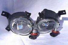 Glass Fog Driving Light Lamp w/2 Light Bulbs One Pair for 2006 A4 S4