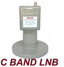 C-band LNBF G-STAR Wideband 65dB Gain- Phase Lock Loop 3.7-4.2GHz Satellite LNB