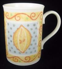 St. Andrew's Lemon and Lime Bone China Mug