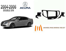 NEW 2004-2006 ACURA TL Car Stereo DOUBLE DIN Dash Kit, Tool Set