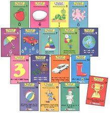 Sing Spell Read & Write Set of 17 Phonetic Storybooks Readers Level 1 1st Grade