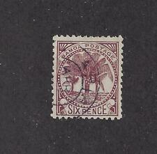 SAMOA -17a - USED - 1886 - PALMS
