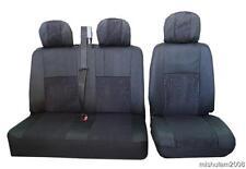 Maßbezug Doppelbank Sitzbezug 2er  + 1 Fahrersitzbezug für VW T4 T5 Transporter