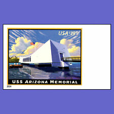 4873a USS Arizona Memorial $19.99 Express Imperf Single Stamp Margin No Die Cuts