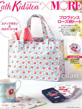 Cath Kidston Provence Rose Blue Flower Hand Bag  Lunch Small Bag