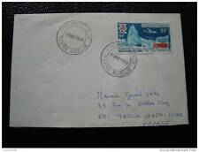 TAAF lettre 1er jour 17/3/69 - timbre - yvert et tellier n°31 (cy6)