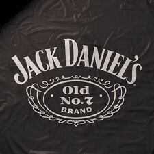 Jack Daniels Heavy Weight Black Vinyl Pool Table Cover - 8ft.