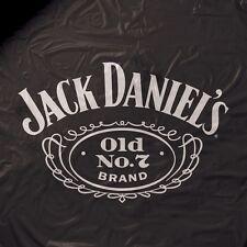 Jack Daniels Heavy Weight Black Vinyl Pool Table Cover - 8ft.
