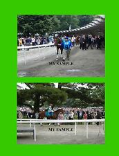 3 AFLEET ALEX 2005 5 x 7 Preakness & 8 x 10 Belmont Stakes Horse Race Photos #7