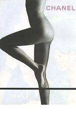 PUBLICITE ADVERTISING 2007   CHANEL Cosmétiques pour un corps parfait...