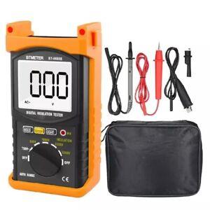 Digital Insulation Resistance Tester ACV Ohmmeter Meter Testing Voltage 5000V