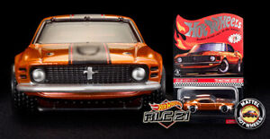 2021 HOT WHEELS RLC '70 MUSTANG BOSS 302 Car Button & Patch Redline Club PRESALE