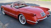 Chevrolet Built Corvette 1950s 1 Race 24 Sport Car 25 Model 18 Carousel Red 12 8
