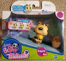 Littlest Pet Shop Walkables - Bee #2472 Bee Walks & Flaps Wings -- NEW IN BOX