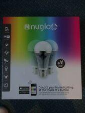 Nuglo Wifi Smart Lights Starter Kit- Unopened, Pack of 3, B22 Bayonet Socket