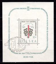 Poland - 1962 Nordic-Ski championship - Mi. Bl. 26 VFU