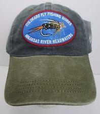 Colorado Fly Fishing Guides Hat Cap Arkansas River USA Embroidery Prefade New