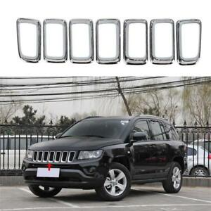 Grille Trim Grill Chrome for Jeep Compass 2011-2015 2016 CH1210111 68109865AA