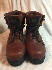 Vintage Mens Willis & Geiger Leather Hiking Boots Sz 8 Very Rare Made In USA