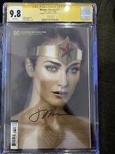 DCC Wonder Woman #765 - CGC 9.8 - signed Joshua Middleton