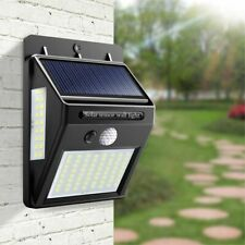 Solar LED Street Light For Home Garden Fence PIR Motion Sensor Detection Wall On