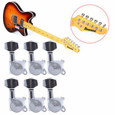 6 Pcs Chrome String Guitar Tuning Pegs Locking Tuners Keys Machine Heads Set
