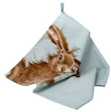 Wrendale hare tea towel Pimpernel for Portmeirion