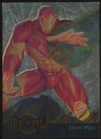 1995 Marvel Metal Blaster Gold Trading Card #7 Iron Man