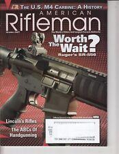 American Rifleman Oct. 2009 Magazine - Rugers SR-556, US M4 Carbine - History
