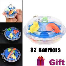 32 Barriers 3D Labyrinth Magic Intellect Ball Balance Maze Perplexus Puzzle Toy