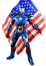 Marvel Iron Man 3 Iron Patriot PVC Action Figure Collectible Model Toy