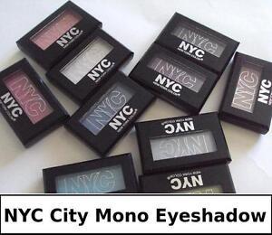 "NYC City Mono Eyeshadow, ""CHOOSE YOUR SHADE!"""