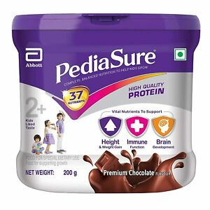 Pediasure Health & Nutrition Drink Powder for Kids Growth- 200gm jar (Chocolate)