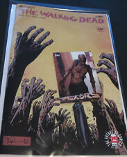 2017 THE WALKING DEAD #163 CONQUERED & FREE WALKERS  W9 TOPPS ZOMBIE INSERT CARD