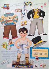 Mary Engelbreit Mag. Paper Doll, Tommy, Dec./Jan. 2002, Uncut