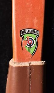 "Vintage (1950's) Bitzenburger LONGBOW 68"" 38# Archery Martin Family Bow"