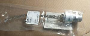 "Kellems Hubbell 07401021 Deluxe Cord Grip 1"" NPT Alum Fittings .625-.750"" WET"