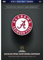 2018 CFP Alabama National Championship Dvd/Blu-ray Combo