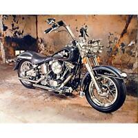 5D DIY Full Drill Square Diamond Painting Motorcycle Cross Stitch Mosaic S1