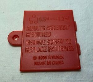 Vintage 90s Laser Challenge Tag Toymax 1996 REPLACEMENT BATTERY COVER for Vest