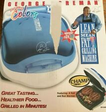 George Foreman/ Lean Mean Fat Reducing Grilling Machine