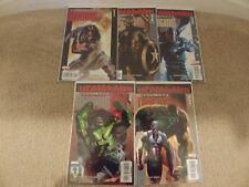 Ultimate Origins #'s 1, 2, 3, 4, 5--Bendis--Ultimates--Wolverine