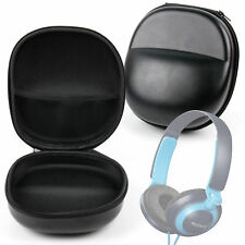 Hard Shell Case (Black) - For Sony MDR570LP | MDR-ZX110NA | ZX550BN Headphones