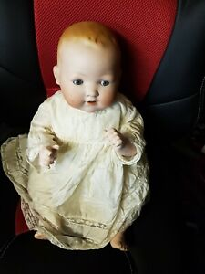 Vintage Armand Marseille German Baby Doll With Composition body