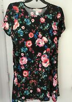 Jamie and Layla Dress floral  Design Size 1x NWT