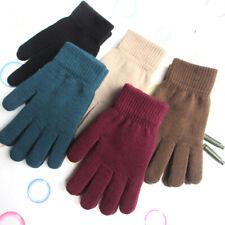 Winter Women Men Warm Full Finger Gloves Knitted Mittens Gloves Hand Warmer