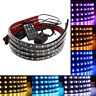 """8 Color LED Under Car Glow Underbody System Neon Lights Kit 48"""" x 2 & 36"""" x 2 A1"""