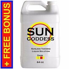 Sun Goddess - DARK - 64 oz - Spray Tanning Liquid Solution / Spray Tan