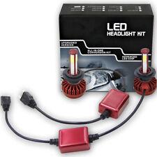 2pcs 4 side H7 LED Headlight Bulbs 6000K Canbus Decoder Super Bright 360° Emit